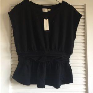 Black Anthropologie T-Shirt